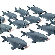 Mô hình cá mập ăn thịt độc đáo - Đồ trang trí an toàn thân thiện cho bé thumbnail