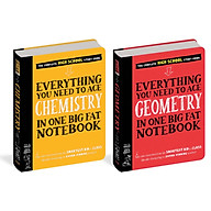 Sách Sổ toán hình học, sổ tay hóa học - sách tham khảo thumbnail