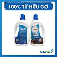 Chăm sóc Ngoại thất ôtô Nano S Car Care - xe sáng bóng như mới, hương thơm nước hoa 500ml thumbnail