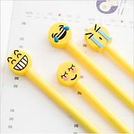 Combo 3 bút bi nước hoạt hình giao ngẫu nhiên BB19 Icon cảm xúc thumbnail