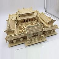 Đồ chơi lắp ráp gỗ 3D Mô hình Thiếu Lâm Tự thumbnail
