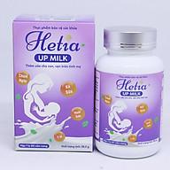 Viên Lợi Sữa HETIA UPMILK - Tăng tiết số lượng và dinh dưỡng trong sữa mẹ đạt hiệu quả ngay từ hộp đầu tiên - Hộp 60 viên nang thumbnail