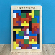 Bộ đồ chơi gỗ xếp hình Tetris thumbnail