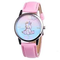 Đồng hồ đeo tay cho bé gái hình ngựa 1 sừng dây da cá tính DH006 thumbnail