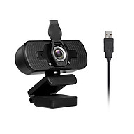 1080P Webcam High Definition USB Web Camera with Privacy Cover Noise Isolating Microphone for Laptop Desktop Computer thumbnail
