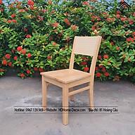 - RẺ VÔ ĐỊCH Ghế Cherry gỗ cao su tự nhiên đa năng tiện dụng thumbnail
