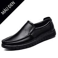 Giày da nam thật, giày trung niên, chống trơn trượt ôm chân phong cách sang trọng mã 36274 thumbnail