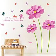 Decal dán tường hoa màu hồng always so beautiful XL8291 thumbnail