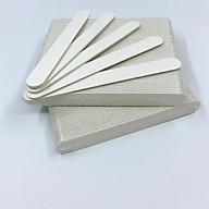 Set 10 cây dũa móng tay mini trắng - độ nhám 120 120 thumbnail
