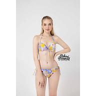 BIKINIPASSPORT Đồ bơi áo tắm Bikini cột dây 2 bên - Vàng BS099_YL thumbnail