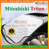 Bạt Phủ dành cho Ô Tô Mitsubishi Triton Cao Cấp 3 Lớp Chống Nắng Nóng Chống Nước Chống xước thumbnail