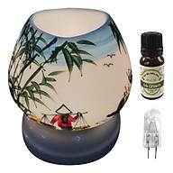 Combo tinh dầu sả chanh Eco oil 10ml cùng đèn xông tinh dầu tam giác TG06 thumbnail