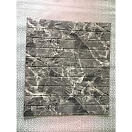 Bộ 10 tấm xốp dán tường 3D giả đá dày 6mm xám đậm thumbnail