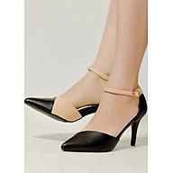 Giày Sandal Cao Gót Nữ Vasmono Phối Chéo V017047 thumbnail