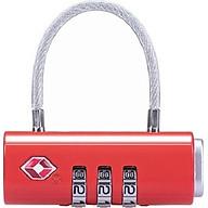 Khóa số NH20SJ005 TSA 3 số dùng khóa vali, khóa túi xách, khóa balo thumbnail