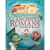 Usborne Ancient Romans Sticker Book (With Over 120 Stickers) thumbnail