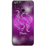 Ốp lưng dành cho Honor 7X mẫu Cung hoàng đạo Pisces (hồng) thumbnail