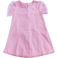 Đầm Suông Bi Hồng Tay Viền Ren Cục Kẹo T72001 thumbnail