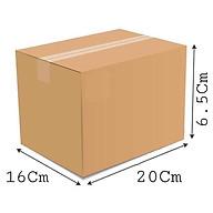 20x16x6.5 - Combo 20 thùng giấy gói hàng, thùng carton thumbnail