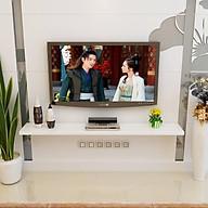 Kệ treo tường thanh ngang trang trí phòng khách phòng ngủ đủ kích thước đủ phụ kiện thumbnail