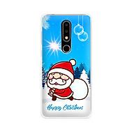 Ốp lưng dẻo cho điện thoại Nokia 6.1 plus X6 - 01171 7939 SANTA02 - Noel - Merry Christmas - Hàng Chính Hãng thumbnail