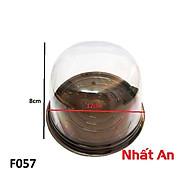 Hộp nhựa tròn F057 (10 cái). thumbnail