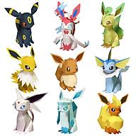 Mô hình giấy cắt dán thủ công Pokemon Eevee Combo 0021 thumbnail