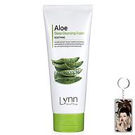 Sữa rửa mặt lô hội Lynn Aloe Deep Cleansing Foam Hàn Quốc 120g thumbnail