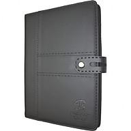 Sổ da khuy bấm 260 trang B5 Klong Bureau - TP345 màu đen thumbnail
