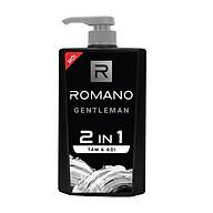 Tắm Gội Romano Gentleman 2 in1 Hương nước hoa 650g thumbnail