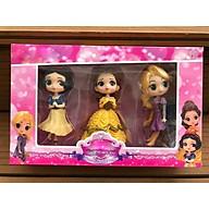 Bộ 3 búp bê công chúa Bạch Tuyết - Rapunzel (Công chúa Tóc Mây) - Belle (Người đẹp và Quái vật) thumbnail