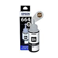 Mực in Epson T6641 Black Ink Bottle (C13T664100) - Hàng Chính Hãng thumbnail