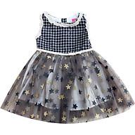 Đầm dạ hội thân họa tiết chấm bi, tùng voal sao T122010 thumbnail