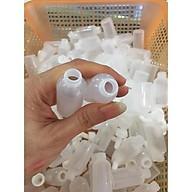 Combo 100 Ống nhựa hút máu bầm, máu độc khi nặn mụn dùng trong spa, thẩm mỹ viện thumbnail