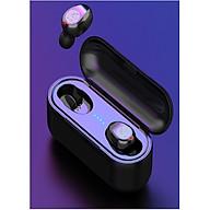 Tai Nghe Bluetooth TWS F9 Tai Nghe Nhét Hai Tai Bluetooth 5.0 True wireless Cảm Ứng Vân Tay, Nút Bấm Chống Nước Dock Sạc Dự Phòng + Túi đựng tai nghe thumbnail