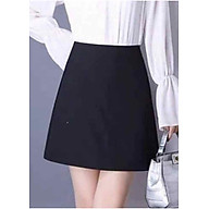 Chân váy đen ngắn có quần bảo hộ - VO002 thumbnail