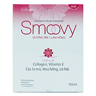 Dung dịch vệ sinh phụ nữ thế hệ mới Smoovy dưỡng ẩm và làm hồng vùng kín 150ml thumbnail
