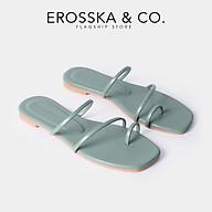 Dép nữ thời trang Erosska kiê u da ng xo ngo n thiết kế phối dây trẻ trung DE033 thumbnail