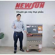 Tủ Nấu Cơm 18 Kg Gạo Mẻ Bằng Gas 6 Khay Nhập Khẩu NEWSUN - Hàng Nhập Khẩu thumbnail
