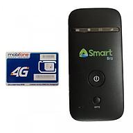 Bộ Phát Wifi Di Động 3G ZTE MF65 Và Sim 3G 4G Mobifone Trọn Gói 1 Năm MDT250A - Hàng Nhập Khẩu thumbnail