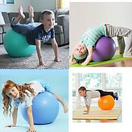 Đồ chơi vận động - Bóng tập Gym - Yoga luyện tập cho bé từ 3 tháng - size 45cm - Màu ngẫu nhiên thumbnail