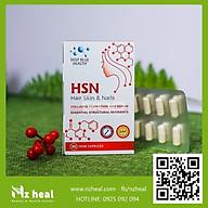Viên uống HSN Deep Blue Health dưỡng da tóc móng 30 viên thumbnail