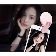 Đèn led kẹp trợ sáng hỗ trợ hoàn hảo cho selfie điện thoại thumbnail