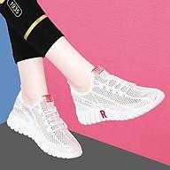 Giày sneaker thể thao nữ buộc dây siêu nhẹ thời trang 254 thumbnail