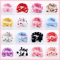 Băng đô nơ vải nhung mịn, kiểu dáng Hàn Quốc - Giao ngẫu nhiên thumbnail