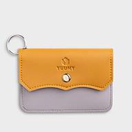 Móc khóa thời trang YUUMY YMK4 - Màu sắc trẻ trung - Thiết kế hiện đại - Đa chức năng sử dụng - Đựng thẻ ngân hàng, thẻ xe, chìa khóa xe - Tiên dụng mang theo bên người (Dài 10cm x Cao 8cm ) thumbnail