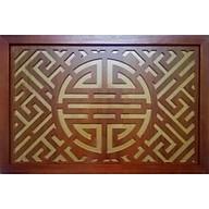 Tấm chống ám khói khung gỗ sồi chữ Phúc Thọ (sản phẩm có nhiều kích thước) - BH79 thumbnail