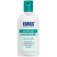 Sữa tắm dưỡng ẩm dạng dầu cho da khô ngứa nhạy cảm EUBOS Sensitive Shower Oil F (200ml) thumbnail