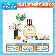 Nước Hoa Nữ IMMORTEL PARIS 206 Eau De Parfum Dung tích 60ml -Quyến rũ và đầy cuốn hút -0733 thumbnail
