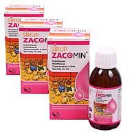 Thực phẩm bảo vệ sức khỏe Sirup Zacomin 125ml (3 hộp) thumbnail